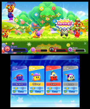 Kirby Fighters Deluxe Review - Screenshot 1 of 7