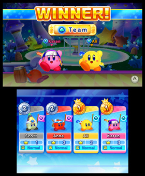 Kirby Fighters Deluxe Review - Screenshot 5 of 7