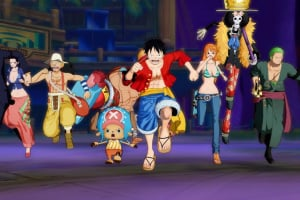 One Piece Unlimited World Red Screenshot