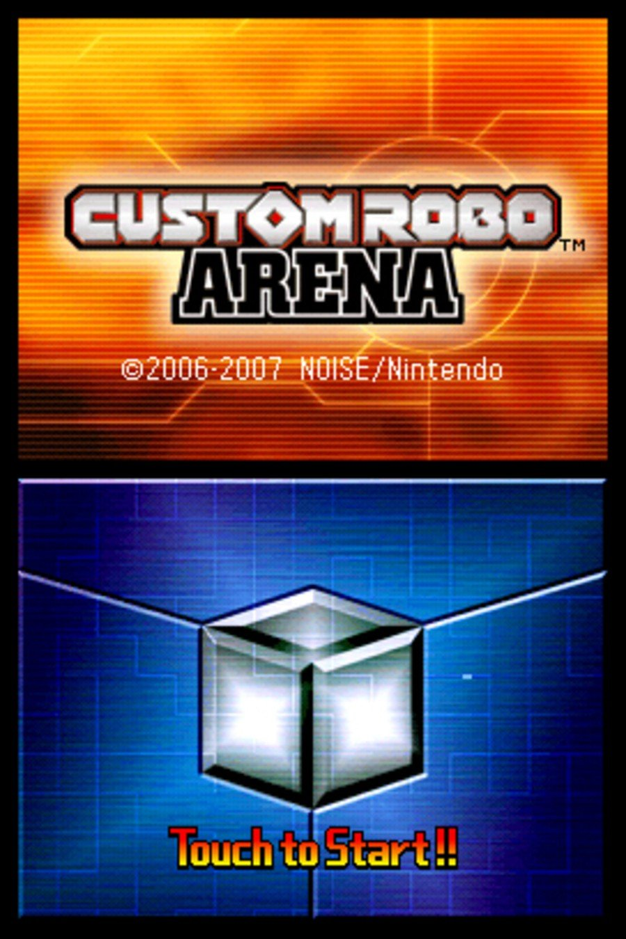 Custom Robo Arena Screenshot