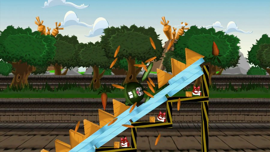 Angry Bunnies: Colossal Carrot Crusade Review - Screenshot 1 of 2