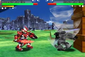 Tenkai Knights: Brave Battle Screenshot