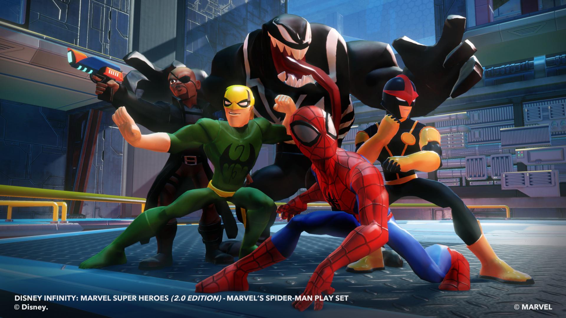 Spider Man S Sworn Enemy Venom Revealed In Wii U Disney