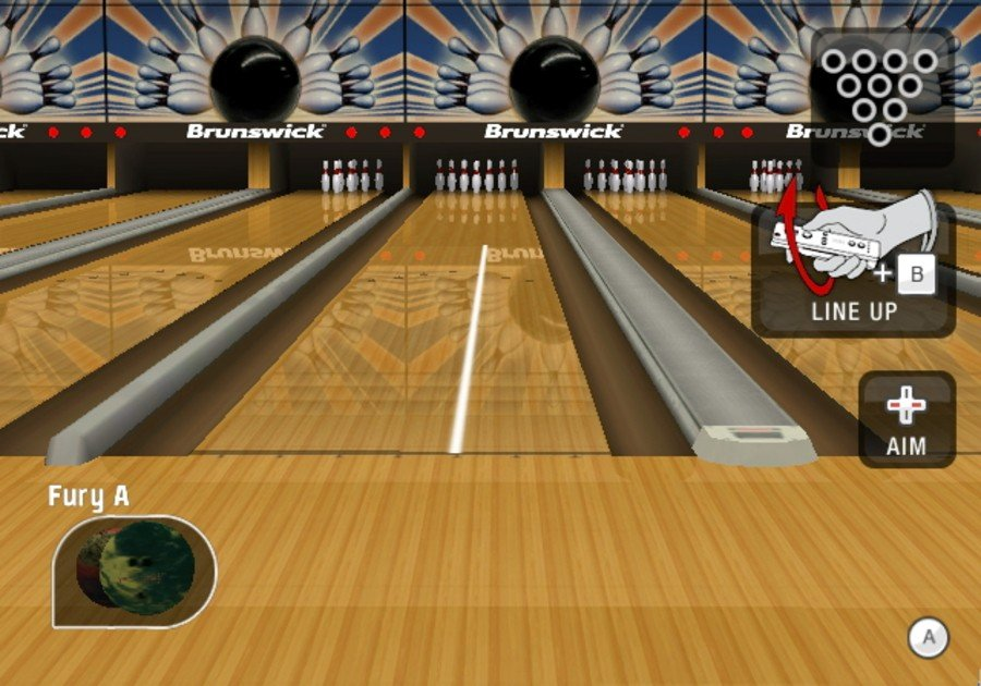 Brunswick Pro Bowling Screenshot