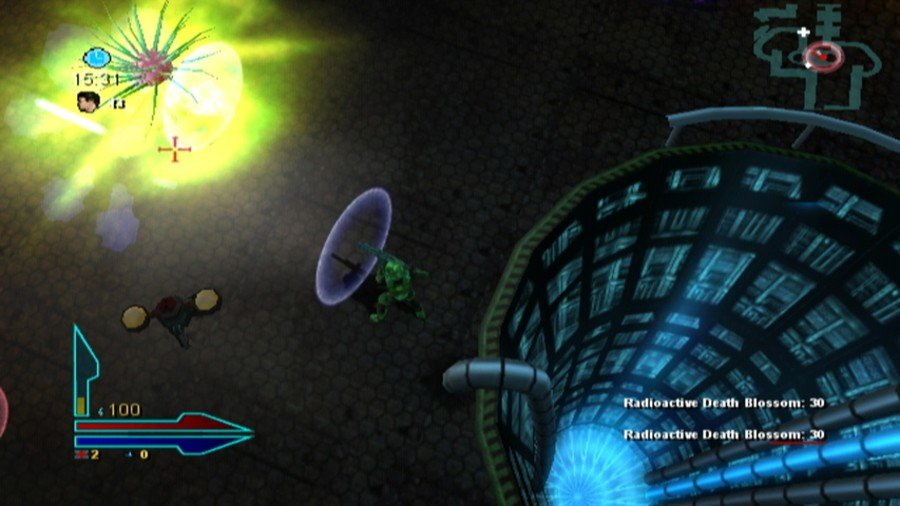 Alien Syndrome Screenshot