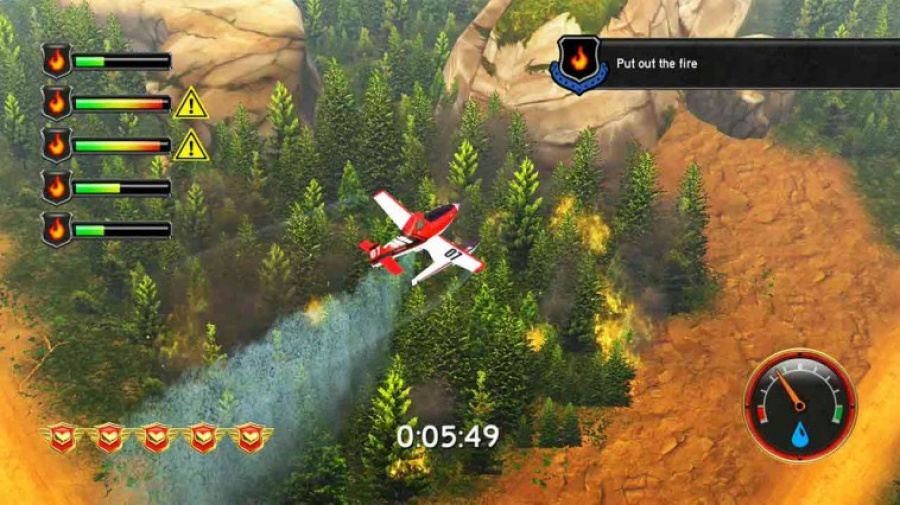 Disney Planes: Fire & Rescue Review - Screenshot 1 of 4