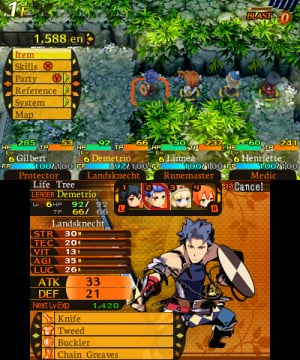 Etrian Mystery Dungeon Review - Screenshot 2 of 10