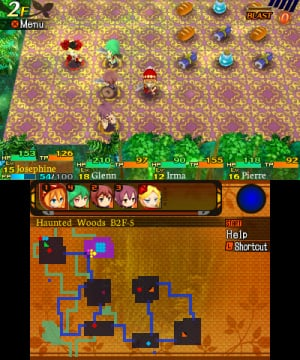 Etrian Mystery Dungeon Review - Screenshot 1 of 10