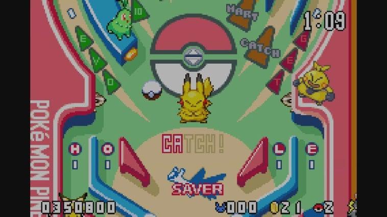 Pokémon Pinball: Ruby amp; Sapphire GBA / Game Boy Advance