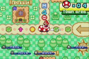 Mario Party Advance Screenshot