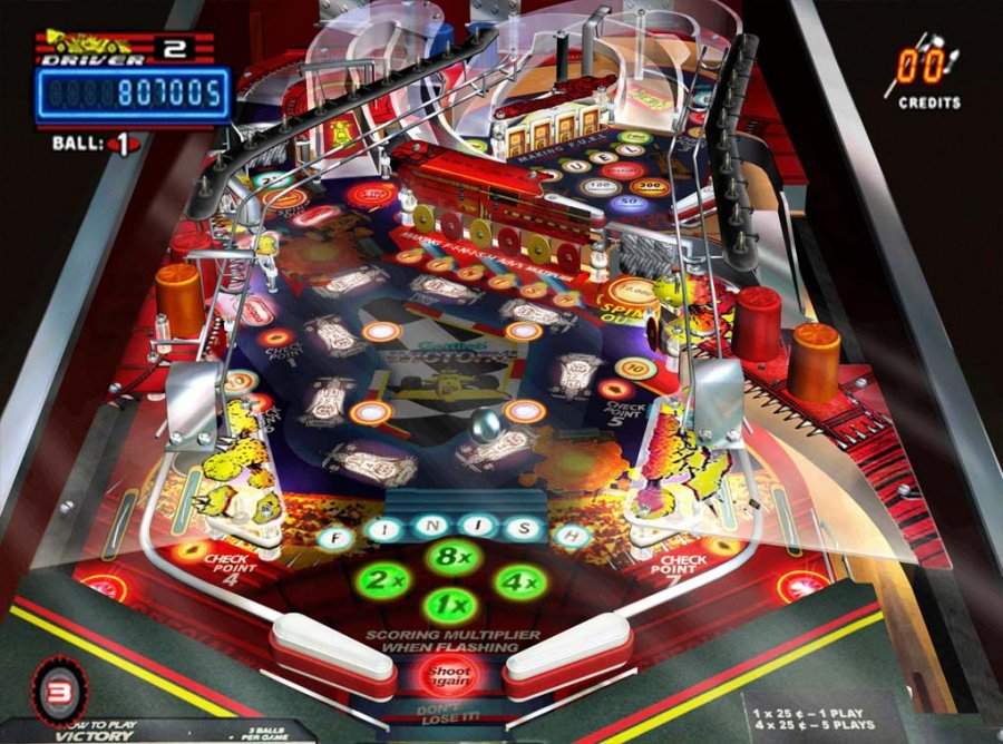 Pinball Hall of Fame - The Gottlieb Collection Review - Screenshot 1 of 3