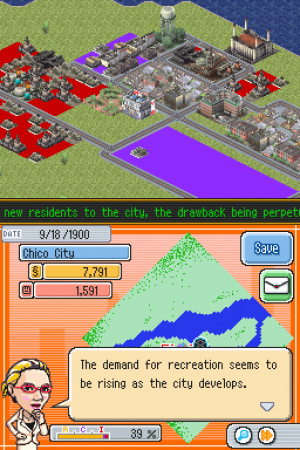 SimCity DS Review - Screenshot 3 of 3