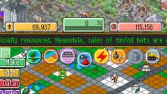 SimCity DS Screenshot