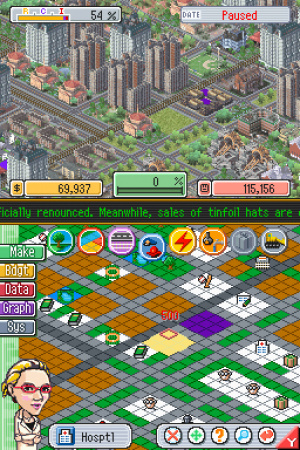SimCity DS Review - Screenshot 3 of 4