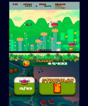 3D Fantasy Zone: Opa-Opa Bros. Review - Screenshot 3 of 4