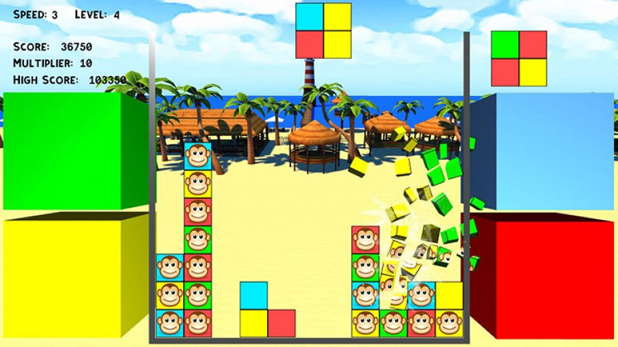 Puzzle Monkeys Review - Screenshot 1 of 5