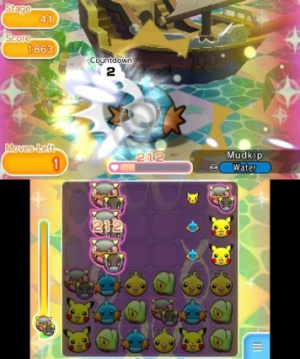 Pokémon Shuffle Review - Screenshot 4 of 8