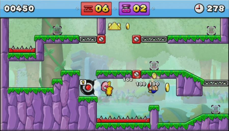 Mario vs. Donkey Kong: Tipping Stars Review - Screenshot 1 of 4