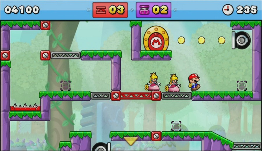 Mario vs. Donkey Kong: Tipping Stars Screenshot