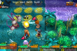 Etrian Mystery Dungeon Screenshot