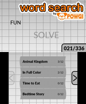 Word Search by POWGI Review - Screenshot 2 of 2