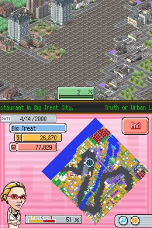 SimCity DS Review - Screenshot 2 of 3