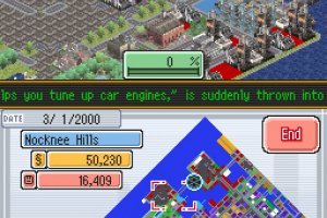 SimCity DS Screenshot