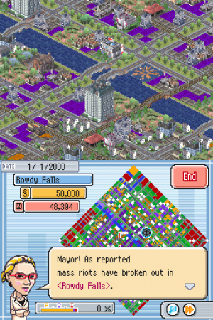 SimCity DS Review - Screenshot 4 of 4
