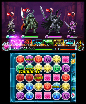 Puzzle & Dragons Z + Puzzle & Dragons: Super Mario Bros. Edition Review - Screenshot 1 of 5