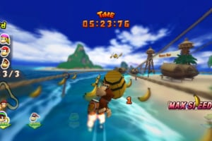 Donkey Kong Barrel Blast Screenshot