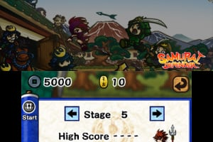 Samurai Defender Screenshot
