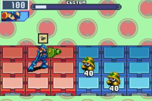 Mega Man Battle Network 4 Red Sun & Blue Moon Screenshot