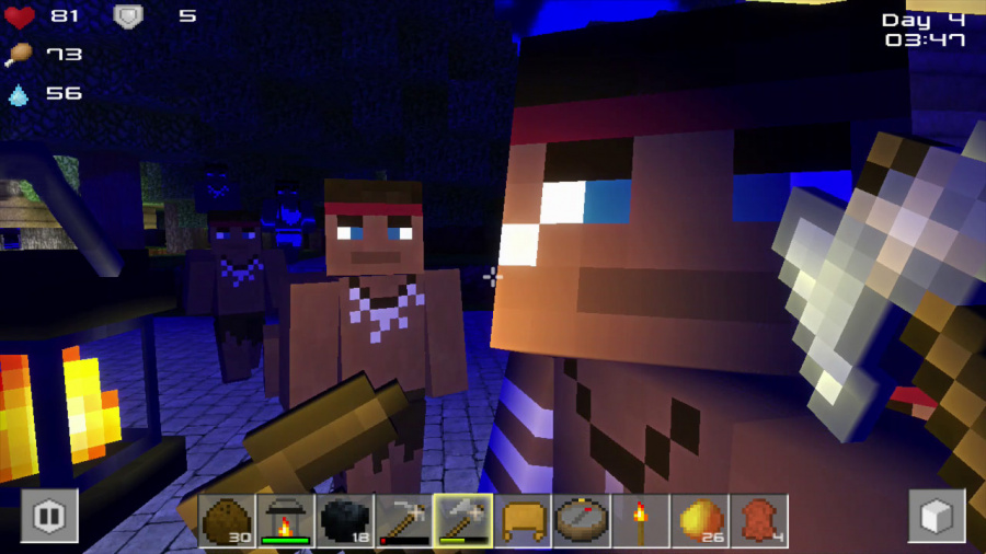 Cube Life: Island Survival Review - Screenshot 3 of 3