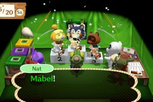 Animal Crossing: Amiibo Festival Screenshot