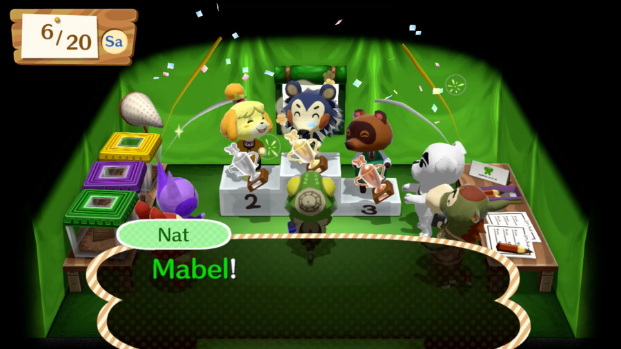 Animal Crossing: Amiibo Festival Review - Screenshot 1 of 8