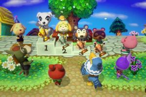 Animal Crossing: Amiibo Festival Screenshot