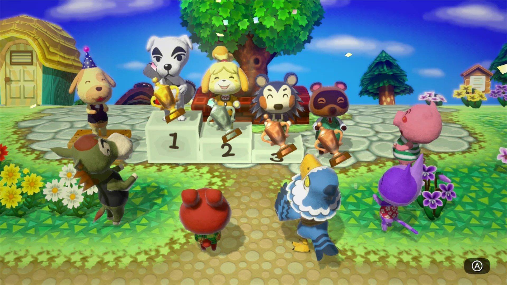 Animal crossing amiibo festival wii u screenshots for Happy home designer unlock guide