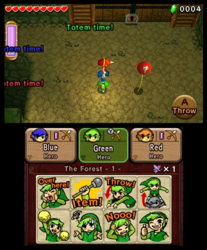 The Legend of Zelda: Tri Force Heroes Review - Screenshot 3 of 9