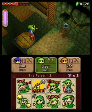 The Legend of Zelda: Tri Force Heroes Review - Screenshot 7 of 9