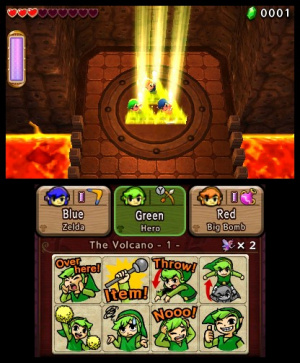 The Legend of Zelda: Tri Force Heroes Review - Screenshot 4 of 9
