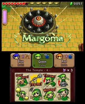 The Legend of Zelda: Tri Force Heroes Review - Screenshot 5 of 9