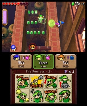 The Legend of Zelda: Tri Force Heroes Review - Screenshot 8 of 9