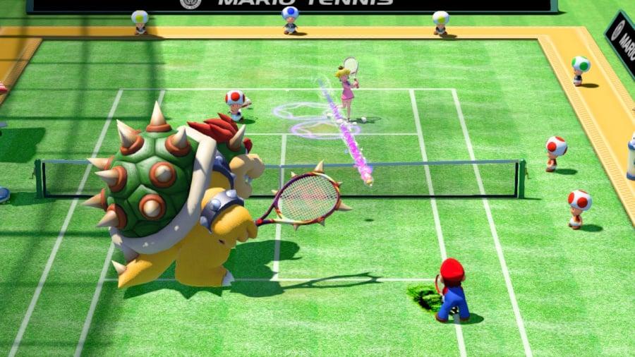 Mario Tennis: Ultra Smash Review - Screenshot 1 of 7