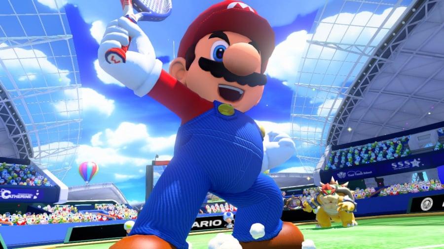 Mario Tennis: Ultra Smash Review - Screenshot 1 of 8