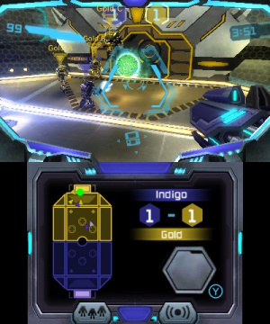 Metroid Prime: Blast Ball Review - Screenshot 1 of 4