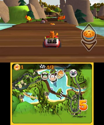 Garfield Kart 3ds News Reviews Trailer Amp Screenshots