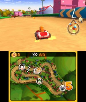 Garfield Kart Review - Screenshot 2 of 5