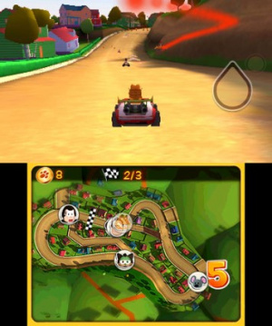 Garfield Kart Review - Screenshot 1 of 4