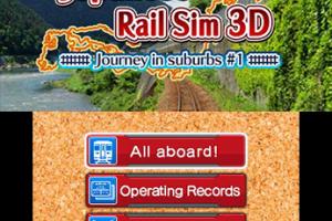 Japanese Rail Sim 3D Journey in Suburbs #1 Screenshot