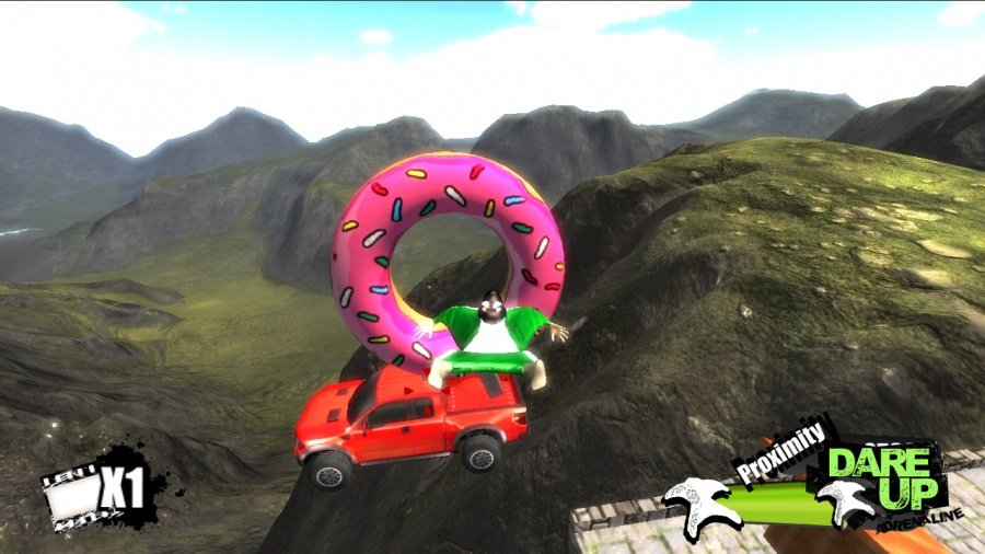 Dare Up Adrenaline Review - Screenshot 1 of 3